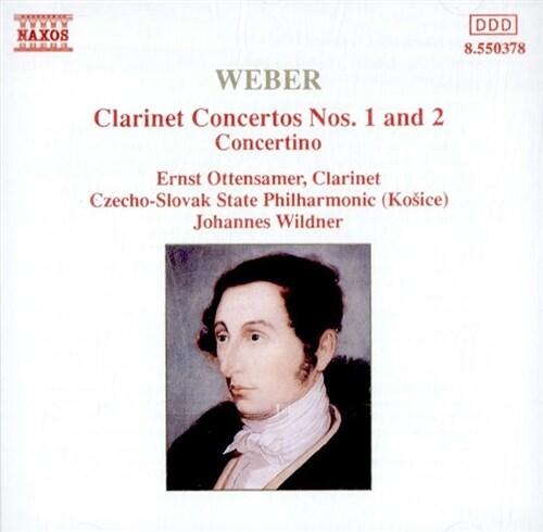 [수입] Weber : Clarinet Concertos Nos. 1 & 2