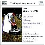 [수입] Warlock, Peter : English Songs