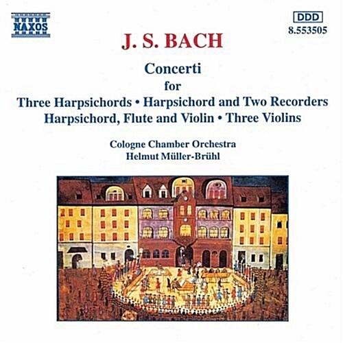[수입] J.S. Bach : Multiple Concerti