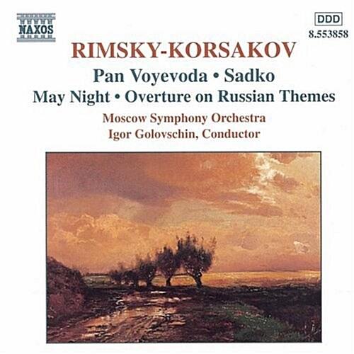 [수입] Rimsky-Korsakov : Pan Voyevoda, Sadko
