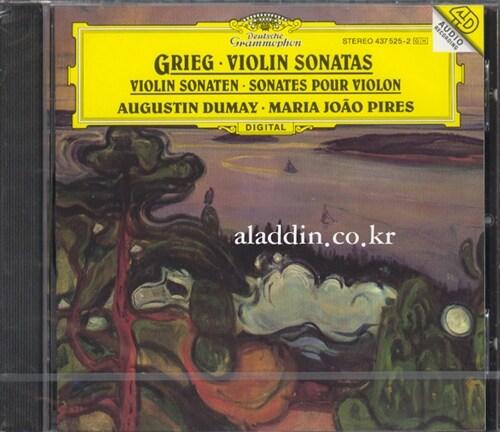 [수입] 그리그 : 바이올린 소나타 Op.8, 13 & 45