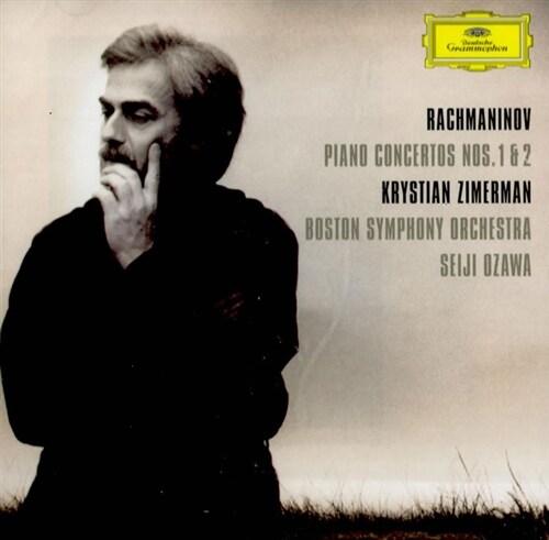 [수입] 라흐마니노프 : 피아노 협주곡 1, 2번