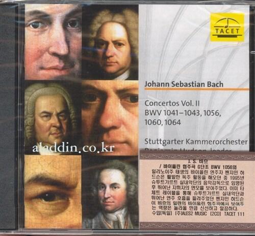[수입] 바흐 : 바이올린 협주곡 [2CD]