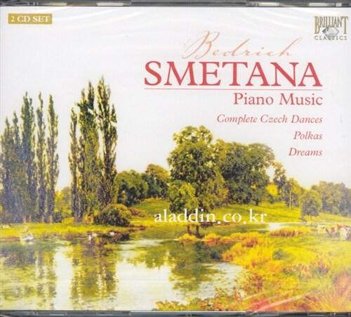 [수입] 스메타나 : 피아노 작품집
