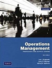 [중고] Operations Management (9th Edition, Paperback)