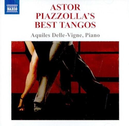 [수입] 피아졸라 : 피아노로 연주하는 피아졸라의 베스트 탱고들