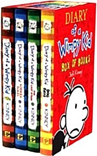 Diary of a Wimpy Kid Box Set (Paperback 4권)