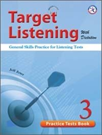 Target Listening with Dictation: Practice Tests Book 3 (Paperback + MP3 CD)