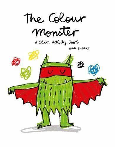 The Colour Monster: A Colour Activity Book (Paperback)