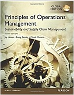 Principles of Operations Management: Sustainability and Supply Chain Management, Global Edition (Paperback, 10 ed)