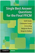 Single Best Answer Questions for the Final Fficm (Paperback)