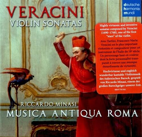 [수입] 베라치니 : 바이올린을 위한 작품집