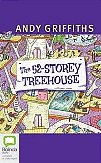 The 52-Storey Treehouse (Audio CD, Library)
