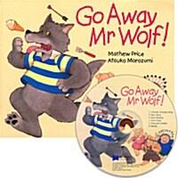노부영 Go Away Mr.Wolf! (Paperback + CD) (Paperback + CD)