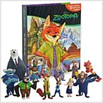 My Busy Book : Zootopia (미니피규어 12개 포함)
