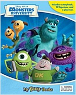 My Busy Books : Disney/Pixar Monsters University (미니피규어 12개 포함) (Board book)