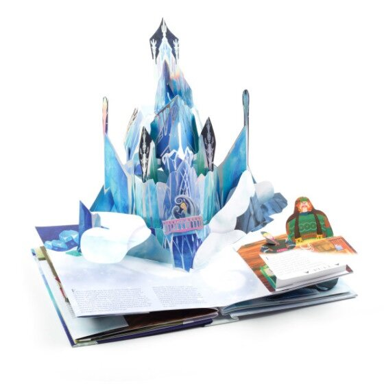 Frozen: A Pop-Up Adventure 겨울왕국 팝업북 (Hardcover)