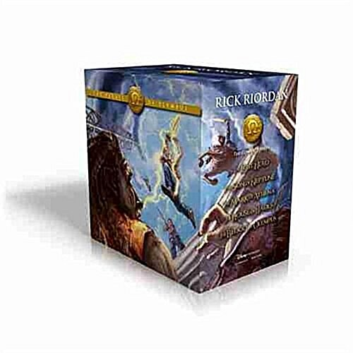 The Heroes of Olympus Paperback Boxed Set (Boxed Set)