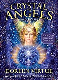 Crystal Angels Oracle Cards: A 44-Card Deck and Guidebook (Other)