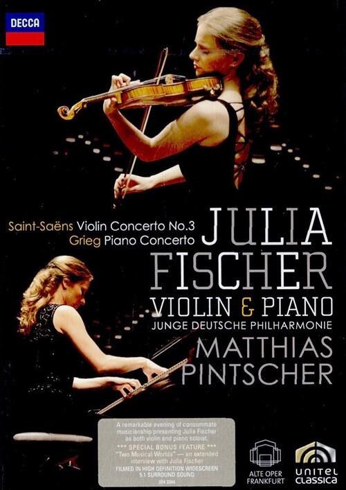 [수입] 생상스 & 그리그 : 바이올린 협주곡 & 피아노 협주곡
