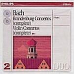 [중고] 바흐 : 브란덴부르크 협주곡, 바이올린 협주곡