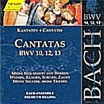 [수입] 헨슬러 에디션 4 - 바흐 : 칸타타 BWV 10, 12 & 13