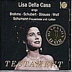 [중고] [수입] Lisa Della Casa - 브람스, 슈베르트, 슈트라우스 & 볼프 가곡
