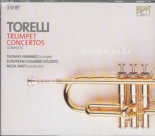 [수입] 토렐리 : 트럼펫 협주곡 전곡