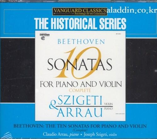 [중고] [수입] 베토벤 : 바이올린 소나타 전곡