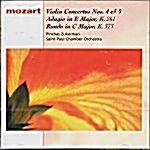 [수입] 모차르트 : 바이올린 협주곡 4번 외