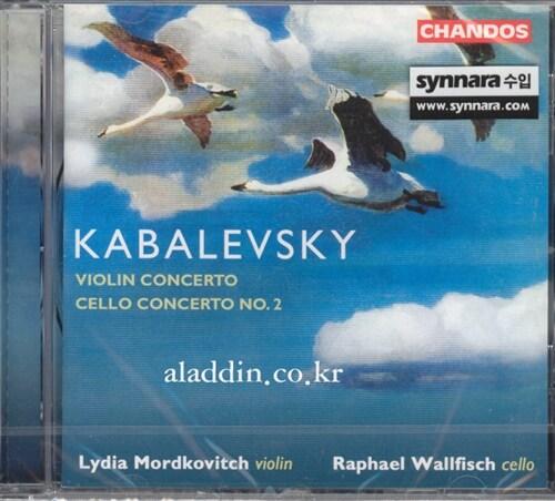 [수입] 카발레프스키 : 바이올린 협주곡, 첼로 협주곡