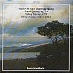 [수입] 헤르초겐베르그 : 피아노 사중주 Op.75 외