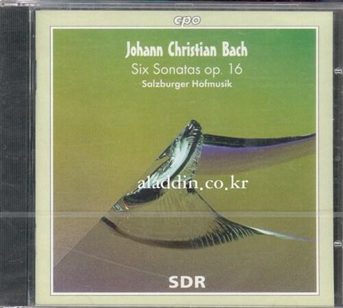 [수입] 요한 크리스찬 바흐 : 여섯개의 소나타 Op.16