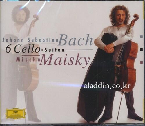 바흐 : 6개의 첼로 모음곡 BWV1007-1012 (재발매)