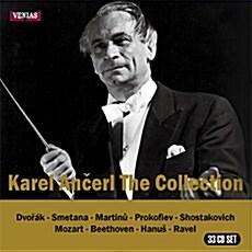 [중고] [수입] 카렐 안체를 컬렉션 1953-1962 녹음 [33CD]