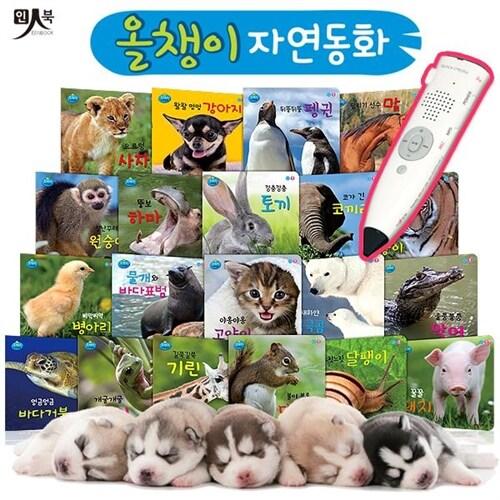 [인북] 올챙이 자연동화 전20권 (세이펜 별매)