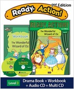Ready Action 2E 3: The Wonderful Wizard of Oz (Student Book, Workbook, Audio CD, Multi-CD)