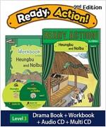 Ready Action 2E 3: Heungbu and Nolbu (Student Book, Workbook, Audio CD, Multi-CD)
