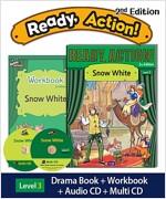 Ready Action 2E 3: Snow White (Student Book, Workbook, Audio CD, Multi-CD)