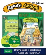 Ready Action 2E 3: The Blind Men and the Elephant (Student Book, Workbook, Audio CD, Multi-CD)