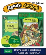 Ready Action 2E 3: Beauty and the Beast (Student Book, Workbook, Audio CD, Multi-CD)