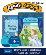 Ready Action 2E 2: The Frog Princes (Student Book, Workbook, Audio CD, Multi-CD)