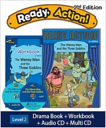 Ready Action 2E 2: The Wenny Man and the Three Goblins (Student Book, Workbook, Audio CD, Multi-CD)