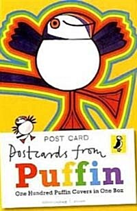 Postcards from Puffin : 100 Book Covers in One Box (Paperback)