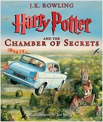 Harry Potter and the Chamber of Secrets: Illustrated Edition, Volume 2 (Hardcover, 미국판)