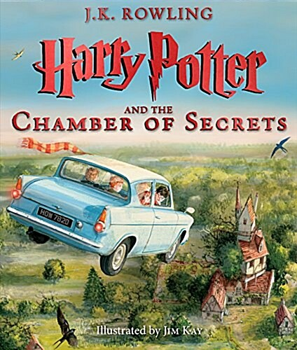 Harry Potter and the Chamber of Secrets: The Illustrated Edition (Harry Potter, Book 2), Volume 2 (Hardcover)