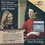 [수입] 모차르트 : 바이올린 협주곡 3 & 4번 외(SACD)