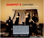 [중고] 콰르텟엑스 샤콘느 - New Step for String Quartet