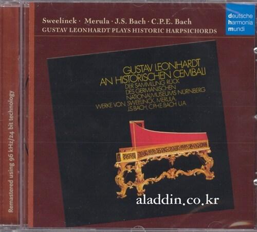 [수입] 구스타프 레온하르트 - Plays Historic Harpsichords