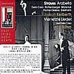 [수입] 슈트라우스 : 아라벨라 & 네 개의 마지막 노래 (1958년 잘츠부르크 실황)